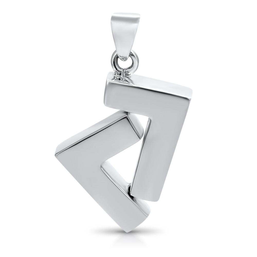 925 silver seven pendant