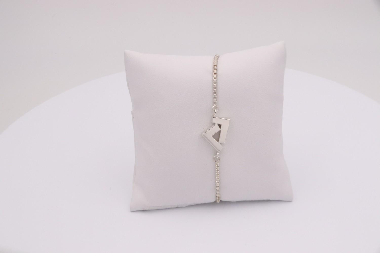 925 Silver adjustable bracelet