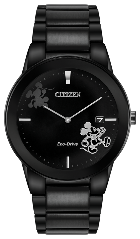 Citizen Disney Mickey Mouse watch with Leather Band