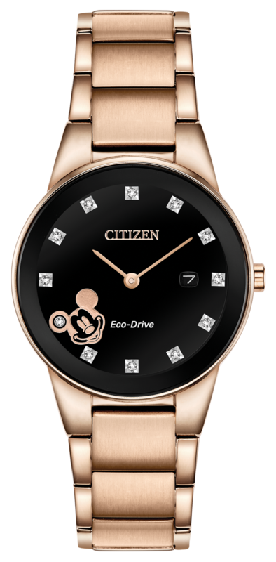 Mickey Mouse Rose Gold-tone watch by Citizen,