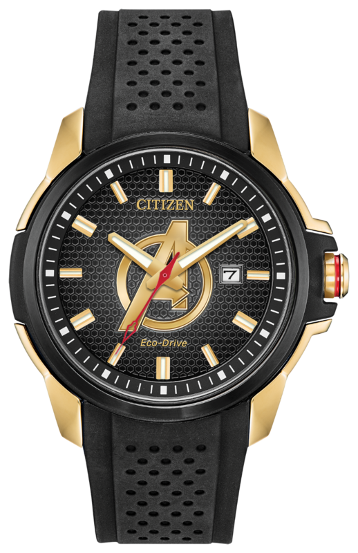 Marvel Avengers timepiece by Citizen
