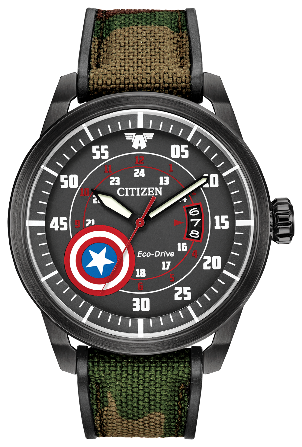 Marvel Captain America watch by Citizen
