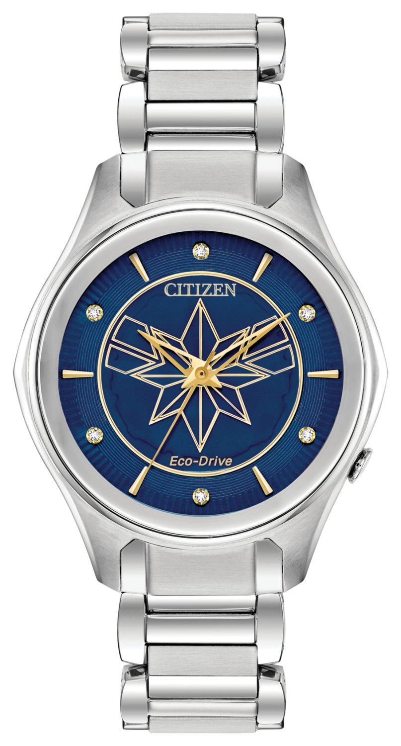 The Marvel Captain Marvel timepiece by Citizen