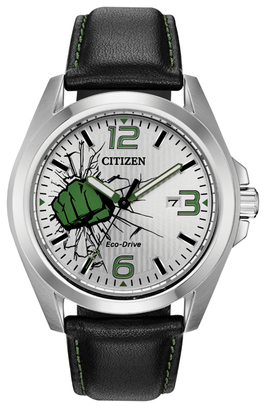 The Marvel Hulk watch by Citizen