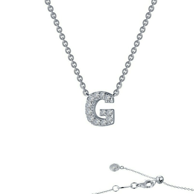 Letter G pendant necklace