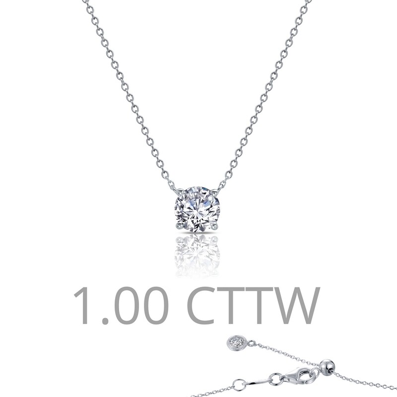 1 cttw Solitaire Necklace