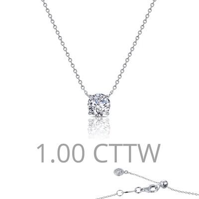 1 cttw Solitaire Necklace