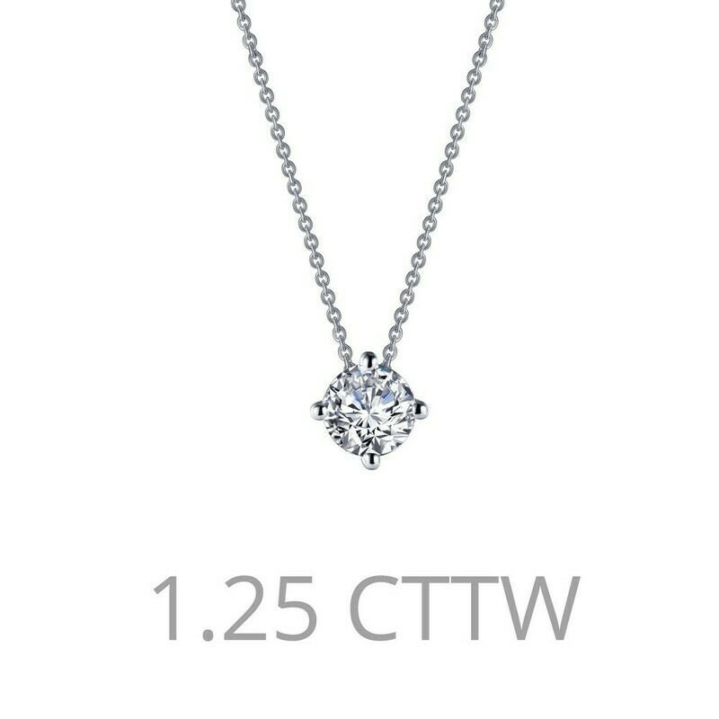 1.25 ct tw Solitaire Necklace