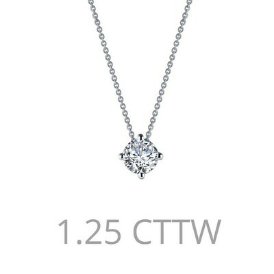 1.25 ct tw Solitaire Necklace