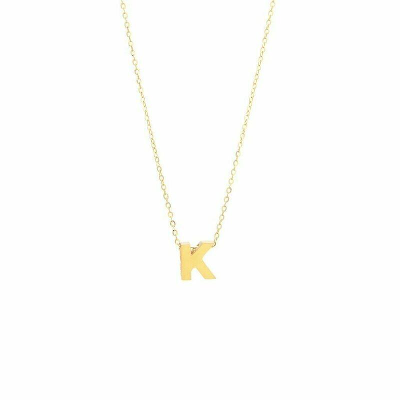 14kyg Initial Letter K