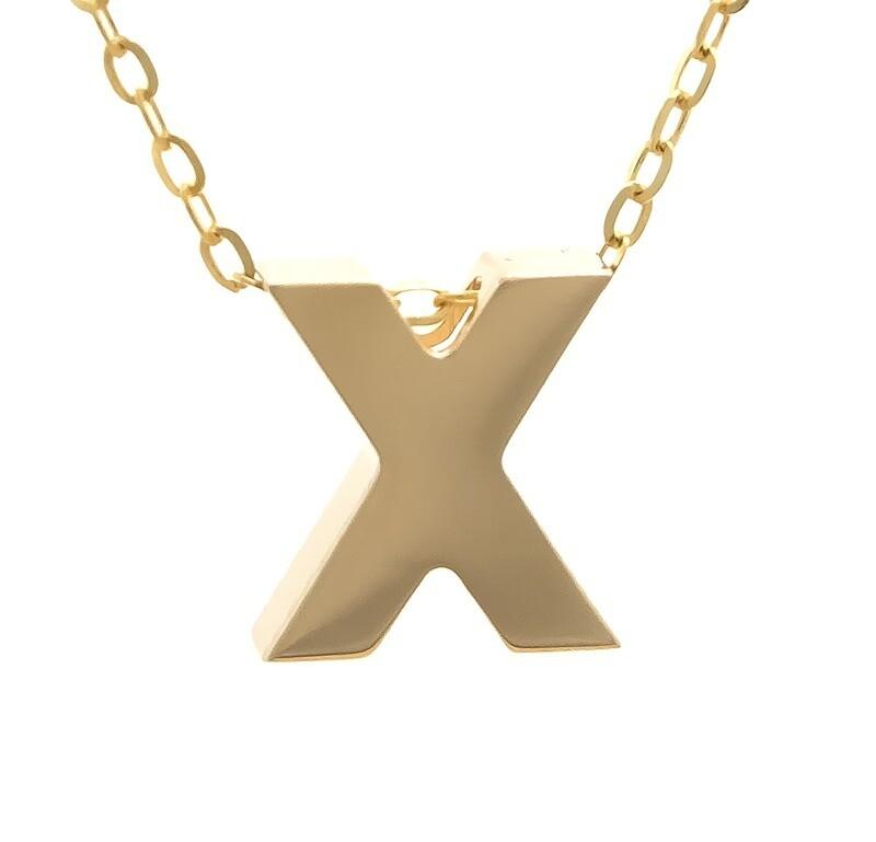 14kyg Initial Letter X