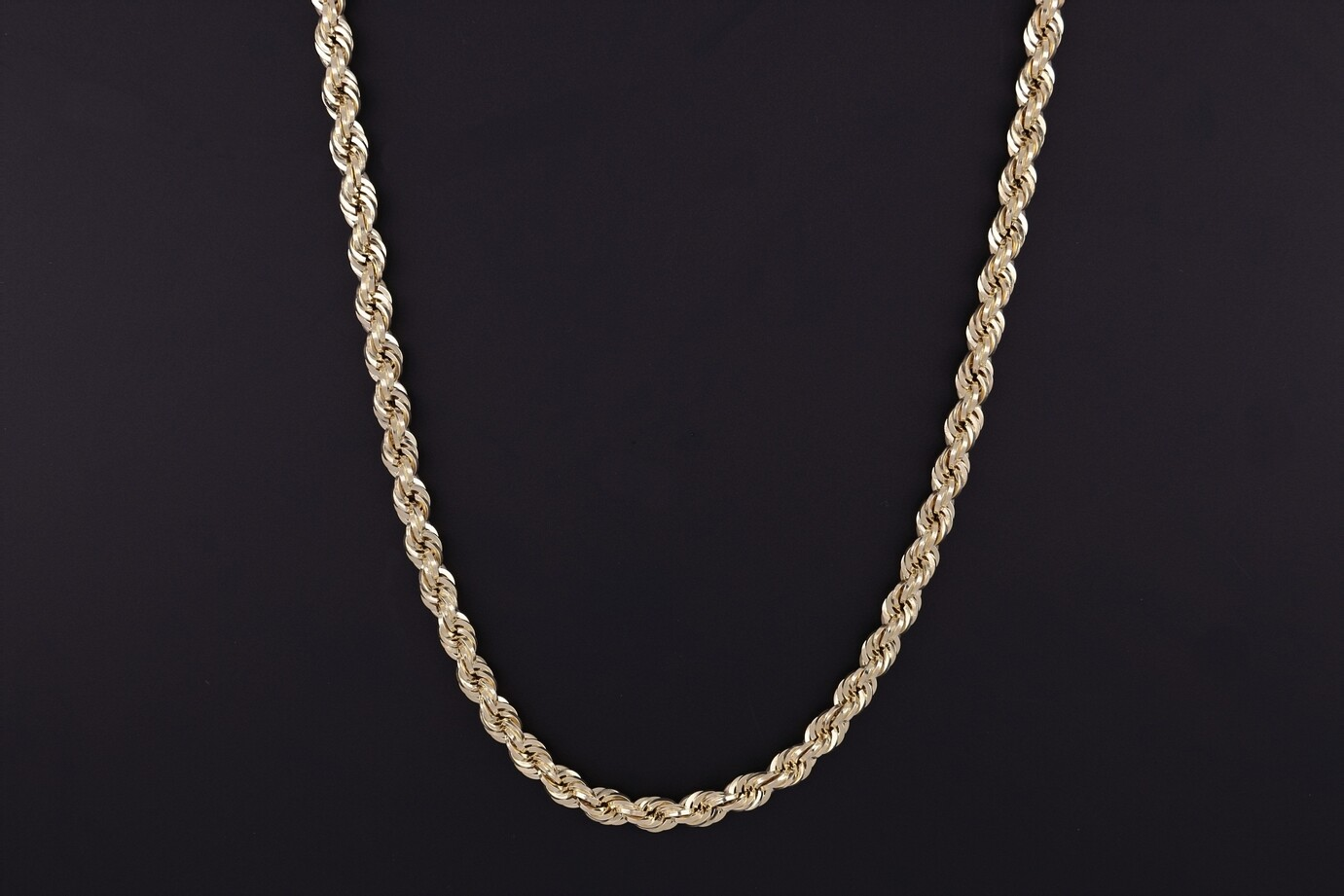 "14kyg 24"" 5mm Rope Chain"