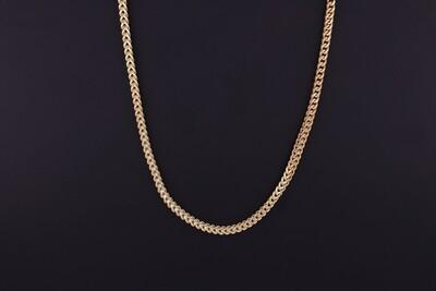 14KYG Franco Link Chain
