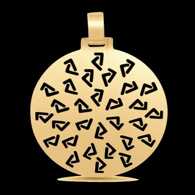 14kyg Seven Medallion