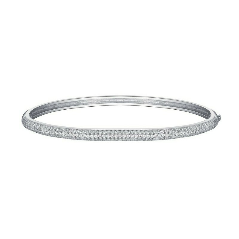 3-Row Shimmering Bangle Bangle