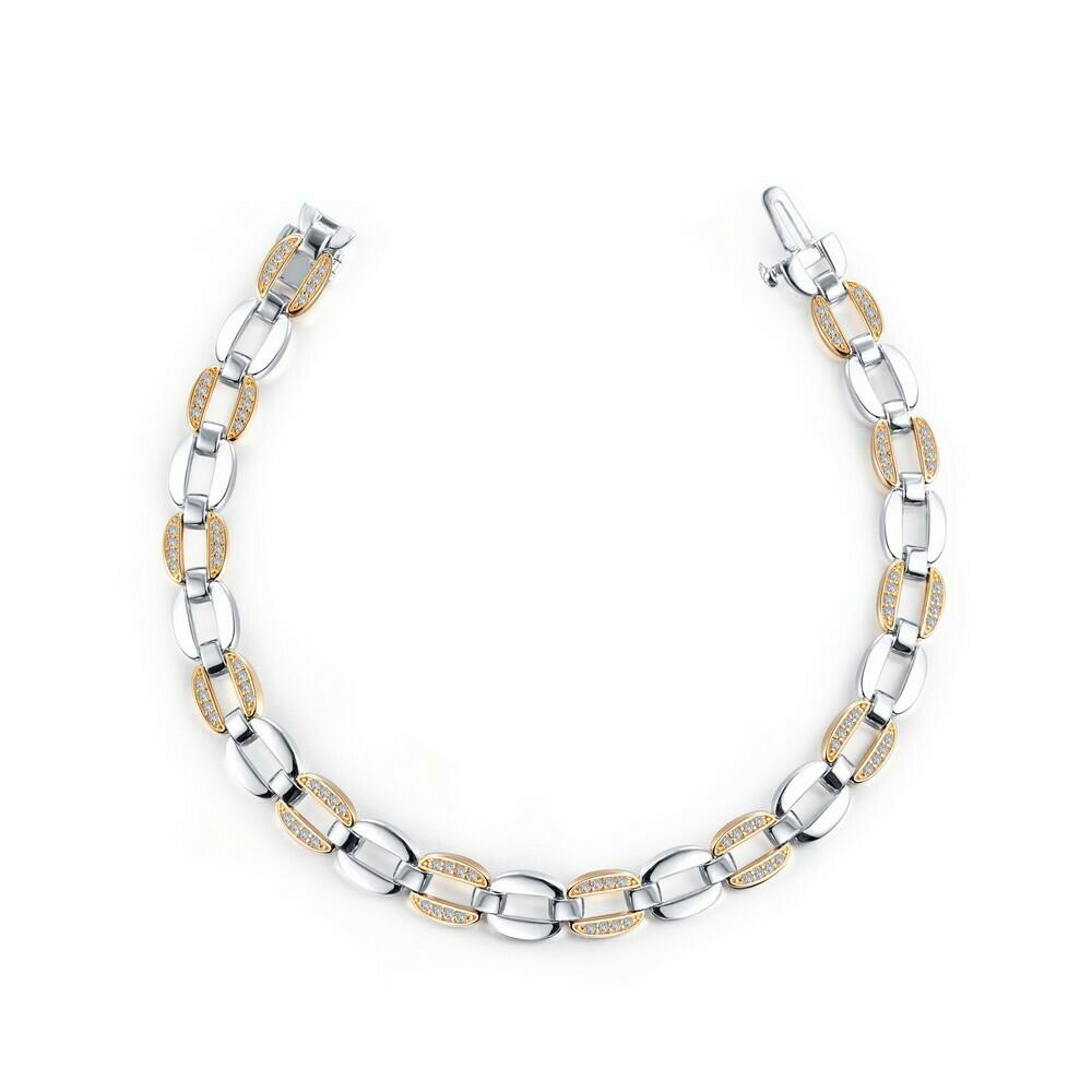 Alternating Link Bracelet