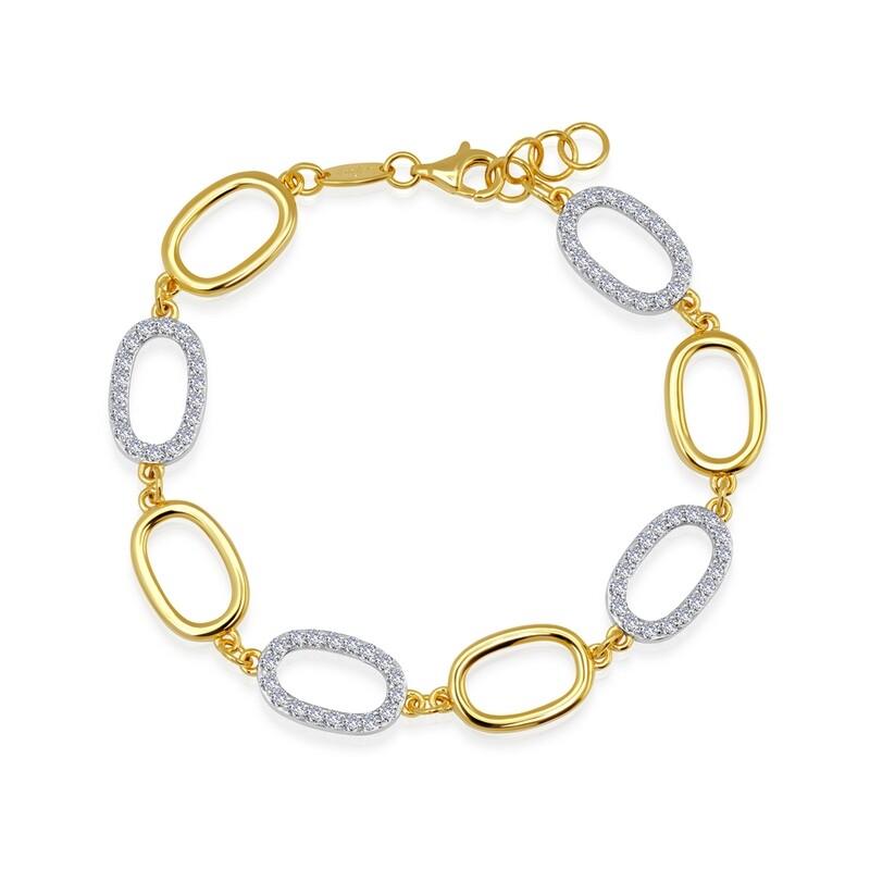 2-Tone Alternating Bracelet