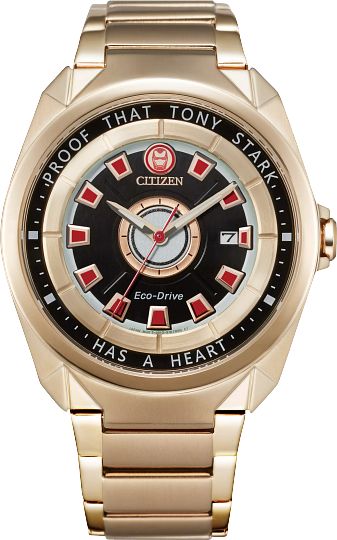Tony Stark Citizen Marvel Watch