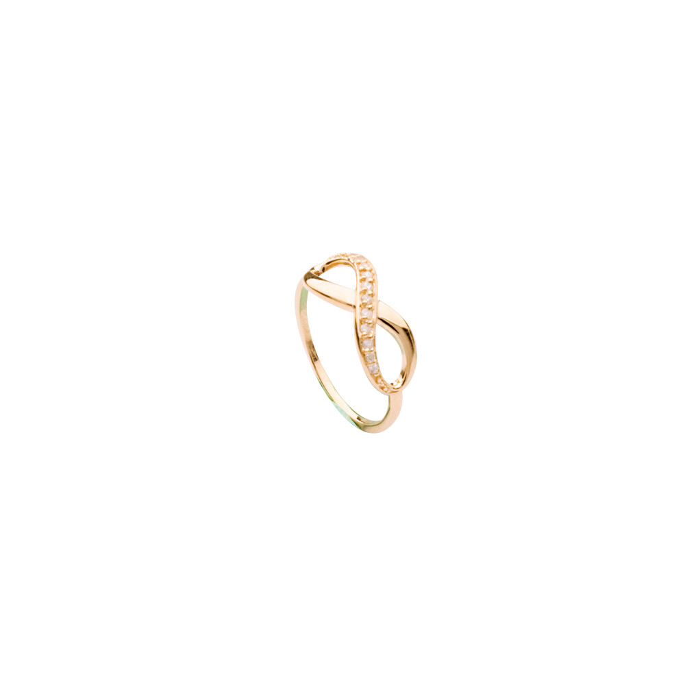 1/6 Cttw Diamond Infinity Ring