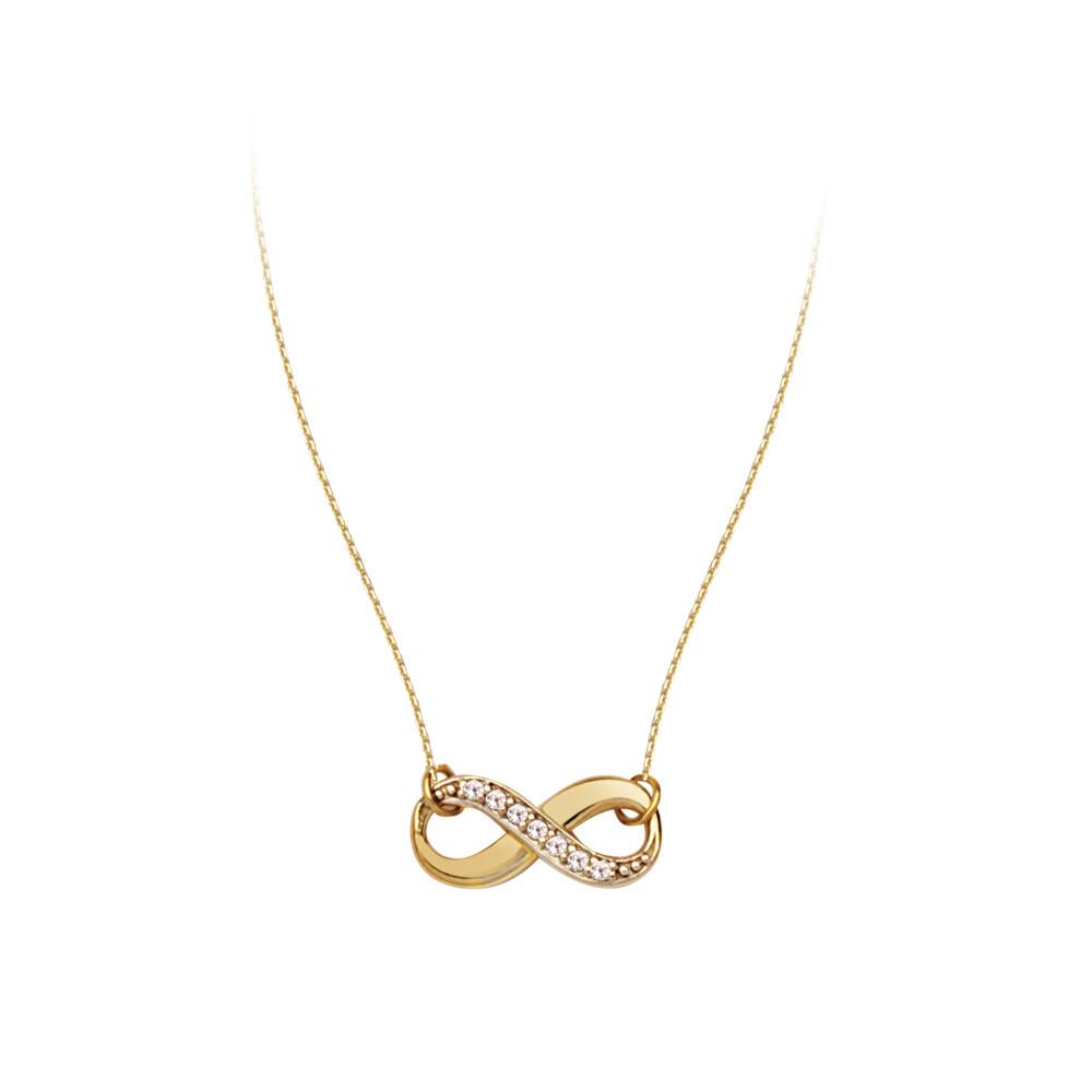 Adjustable Infinity Diamond Necklace