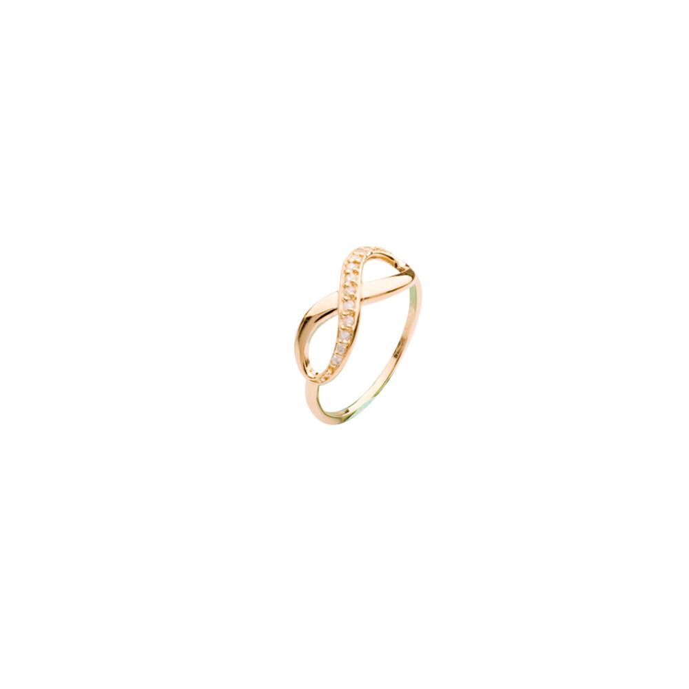 CZ Infinity Ring
