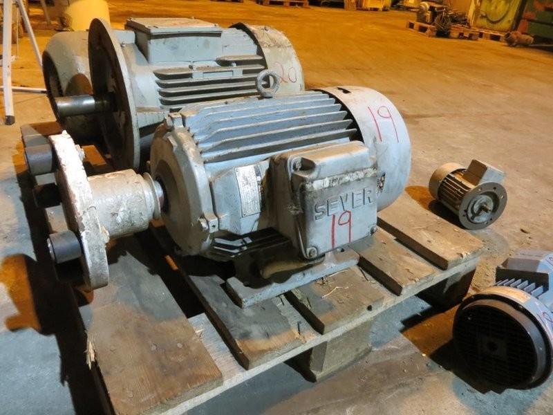 19. El motorer - 7,5kw 220/380v 953o/m