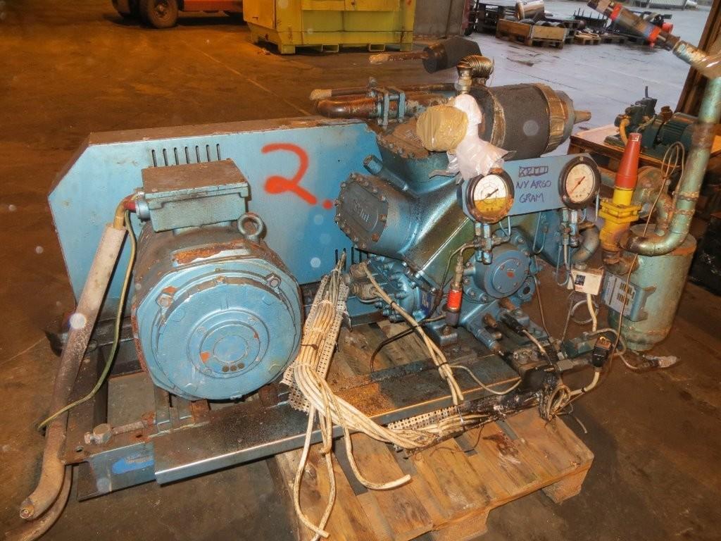 2. Frys/kjøle utstyr-kompresorer