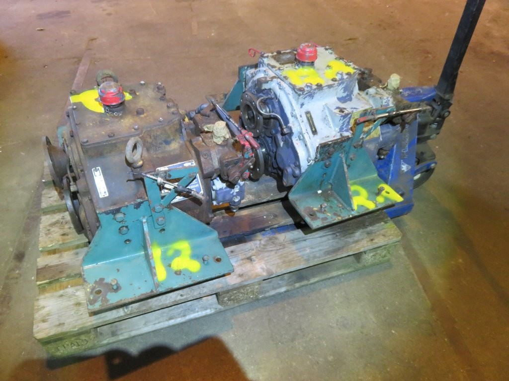 12. Gear boxes - Twindisc  V-gir  MG-509