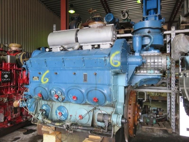 6. Hoved motorer - Detroit GM Diesel 567-CR