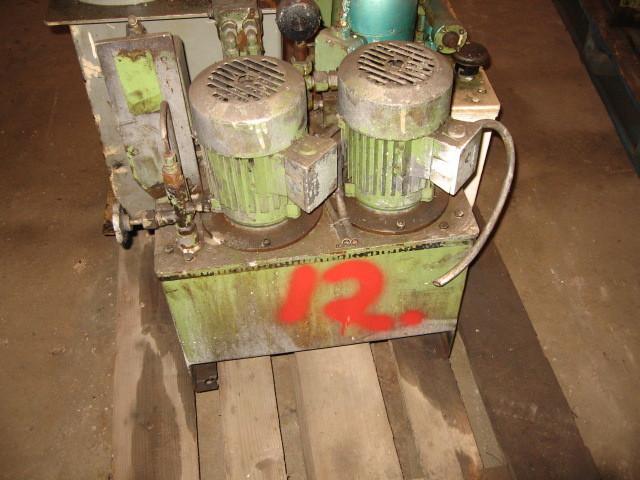 12. Hydraulik agregat - 2x0,78kw  220-380vol