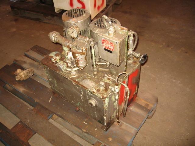 15. Hydraulik agregat - 2x0,78kw 220-380vol