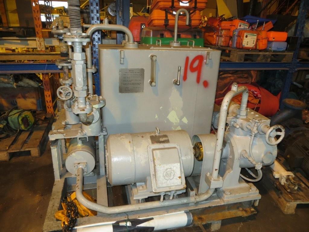 19. Hydraulik agregat - Kawasaki  130 bar