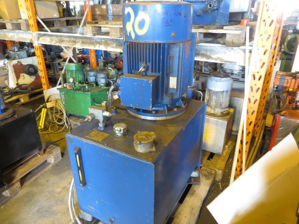 20. Hydraulik agregat - Dekskran 45kw
