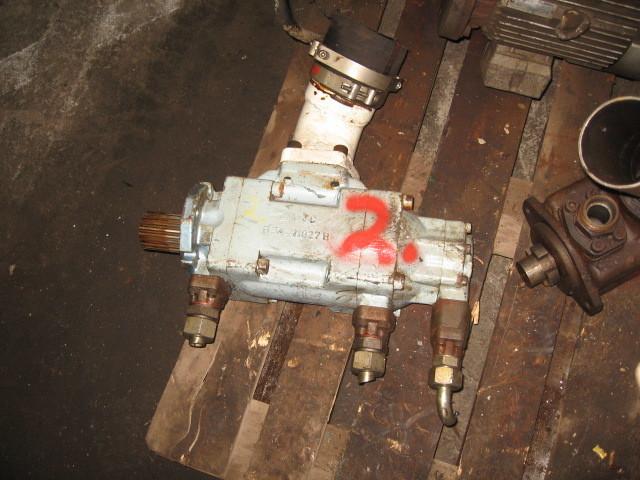 2. Hydraulik pumper - Denison  (trippel)