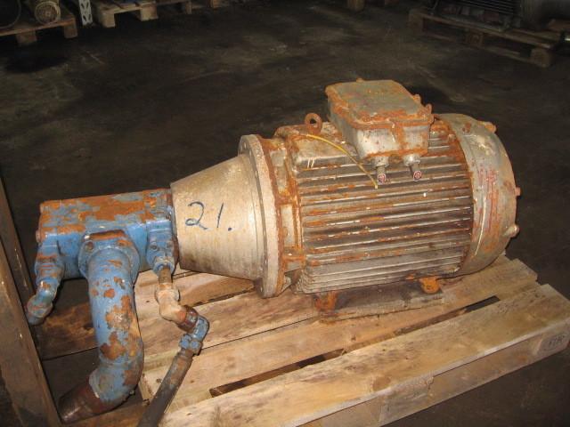 21. Hydraulik pumper - Vickers 4536V 42A 3