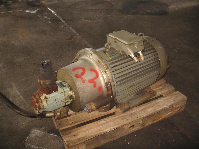 22. Hydraulik pumper - Denison T6DC B35 B10 1R00B1