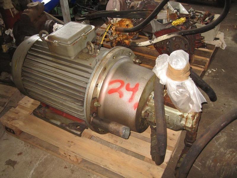 24. Hydraulik pumper - Denison T6DC B31 B10 1R00B1