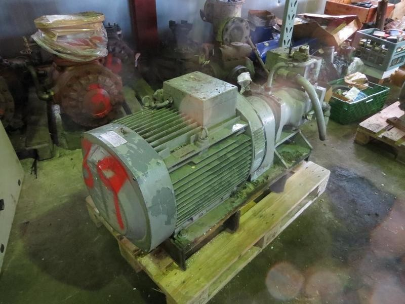 39. Hydraulik pumper - Brusselle typeP-53