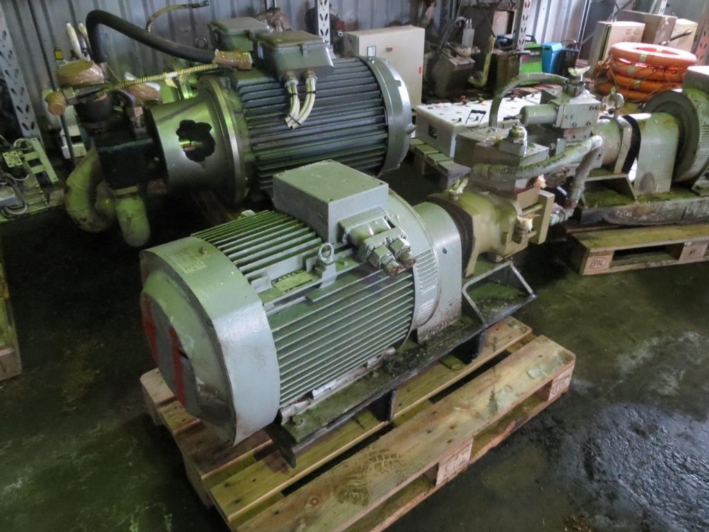 41. Hydraulik pumper - Brusselle typeP-53