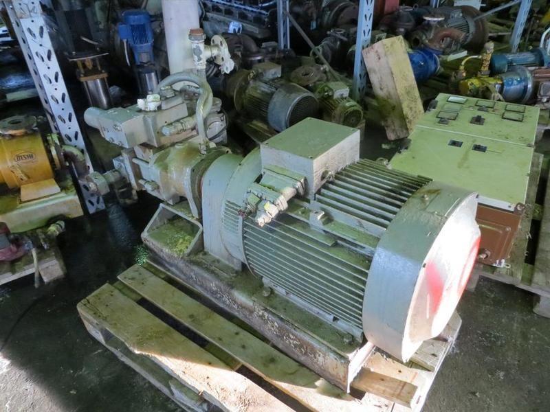 42. Hydraulik pumper - Brusselle typeP-53