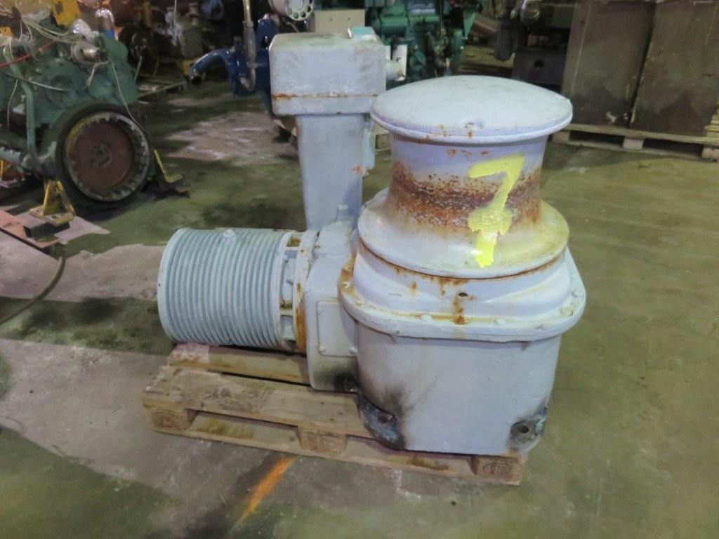 7. Kapstan-pullert - Elektrisk capstan