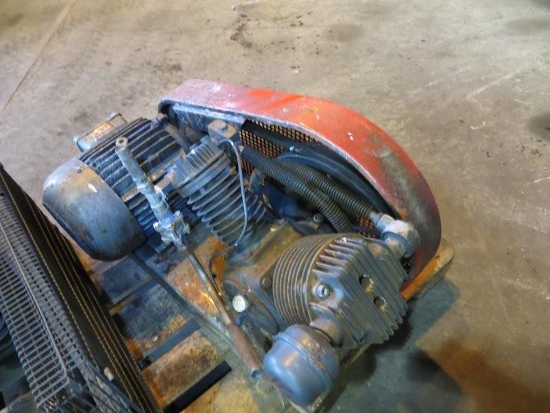 16. Luft kompressorer - Ingersold   2cyl