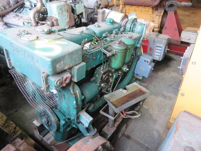 5. Motor og Generator sett - Volvo TMD 70C 1994