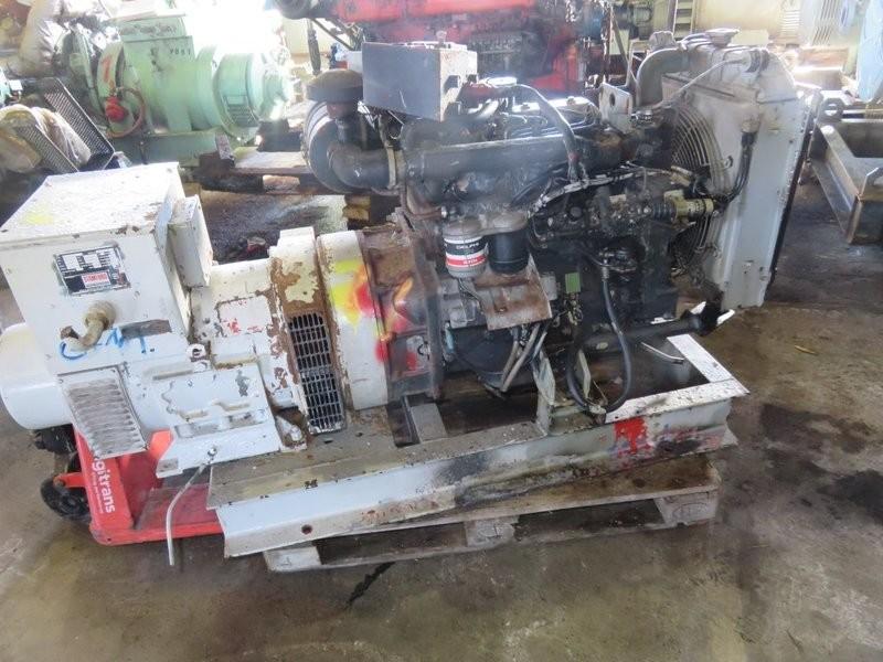 21. Motor og Generator sett - Iveco, Stamford  37,5 kva  230v