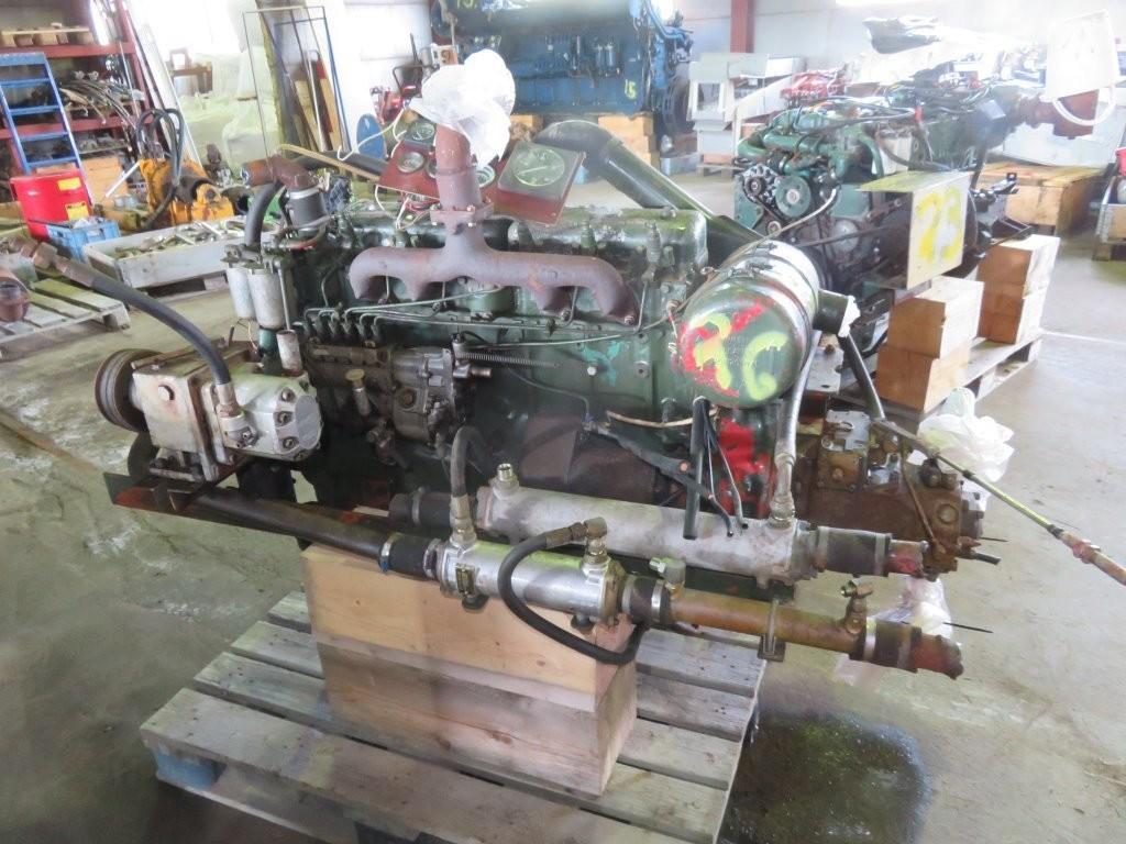 26. Motor og Generator sett - VOLVO D-50A Driver Hydraulik pumpe