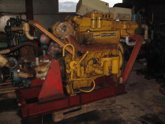 38. Motor og Generator sett - Cat D336 v-8, sno55B1126