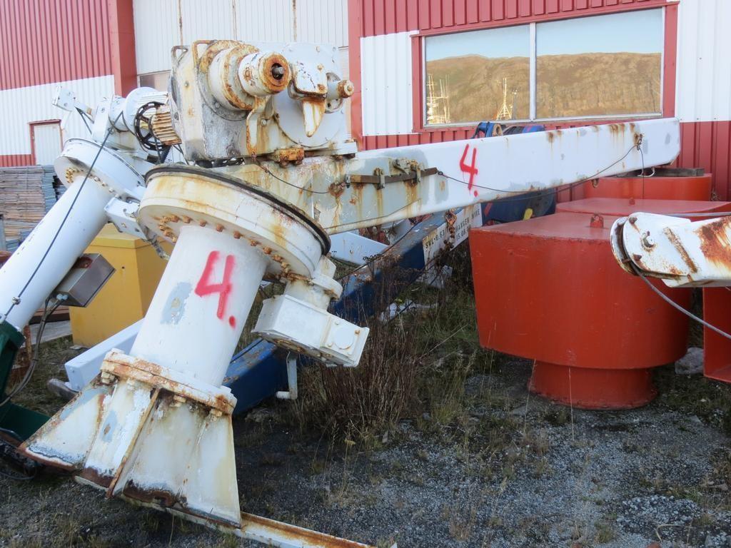 4. Mobåt kraner -  Acta type DR 35