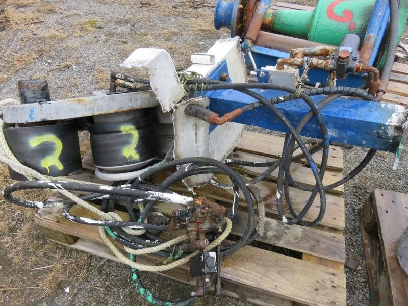 2. Not & garn utstyr, Triplex - Garn stopper  Rapp hydema  HSA 02