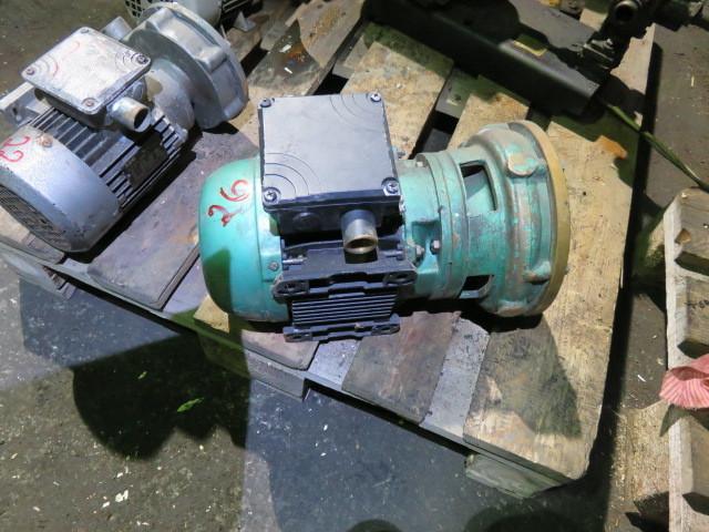 "26. Pumpe, Brann-Lense-Spyle - 1"" 1,5kw  220-440v"