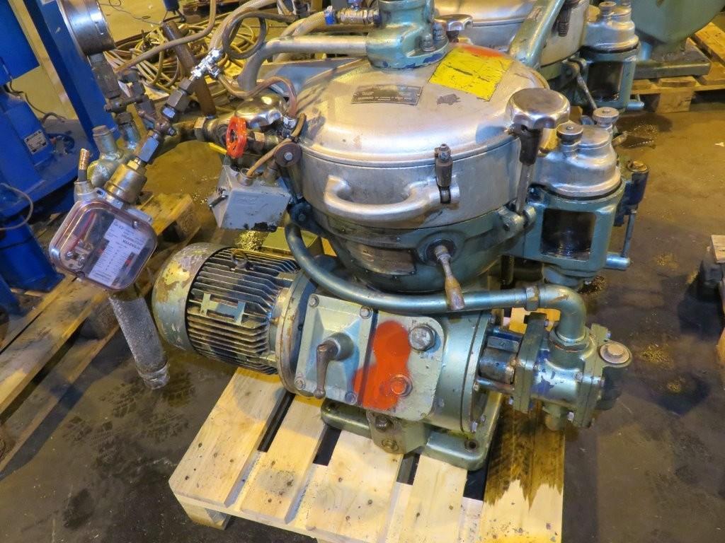 8. Seperatorer - Alfa-laval  MAB 205S